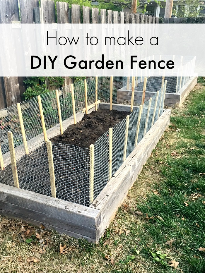 How to Make a Vegetable Garden Fence