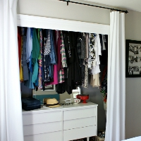 Ideas for Organizing a Small Closet