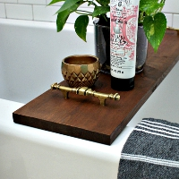 How to Make a Bathtub Tray