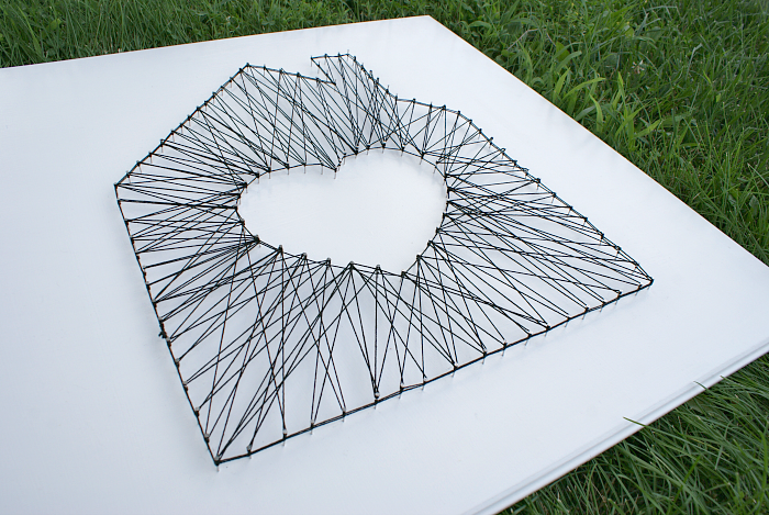 Modern String Art Tutorial