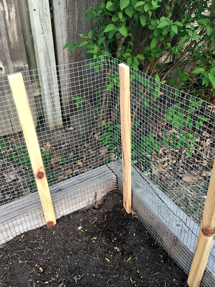 How to Make a DIY Vegetable Garden Fence