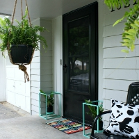 budget friendly porch makeover